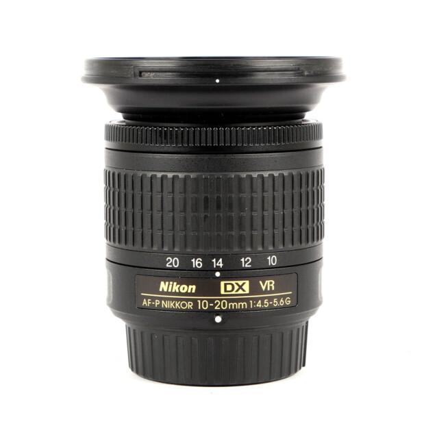 Nikon AF-P DX Nikkor 10-20mm F4.5-5.6G VR Occasion 9817