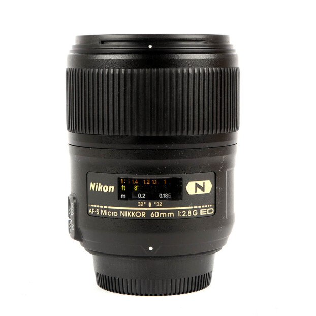 Nikon AF-S 60mm F/2.8G ED Micro Occasion 9818