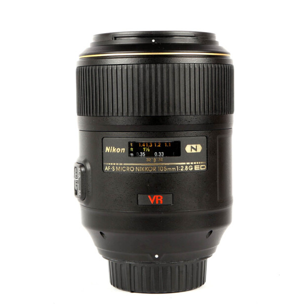Nikon AF-S 105mm F/2.8 G IF-ED VR Micro Occasion 9819