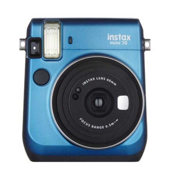 Fujifilm Instax mini 70 EX D blauw, Instant camera