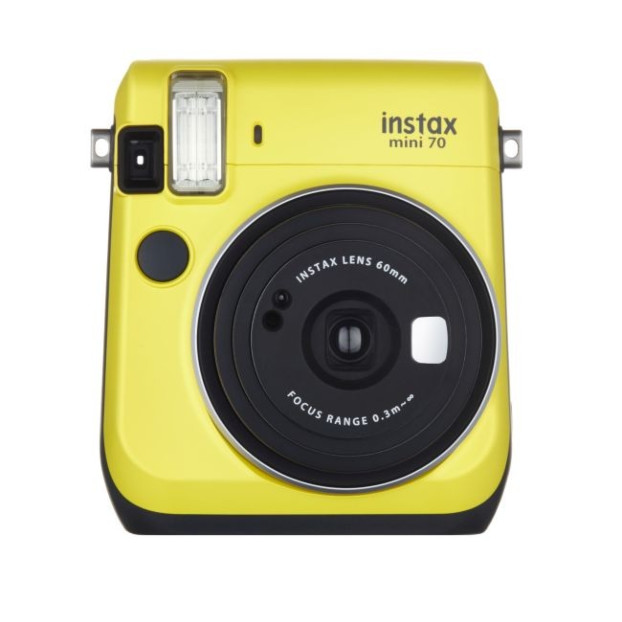 Fujifilm Instax mini 70 EX D geel, Instant camera