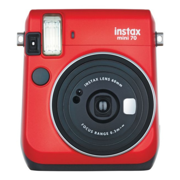 Fujifilm Instax mini 70 EX D rood Instant camera