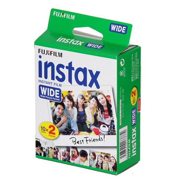 Fujifilm Instax Wide Film (2-pak)