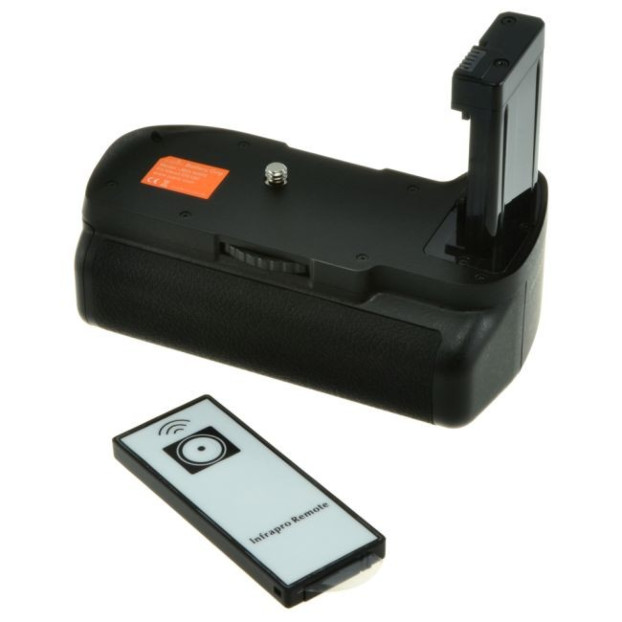 Jupio JBG-N005 Battery Grip voor Nikon D5100/D5200/D5500/D5600