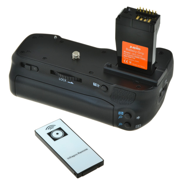 Jupio Battery Grip for Canon 750D/760D/IX8/T6S/T6I JBG-C013