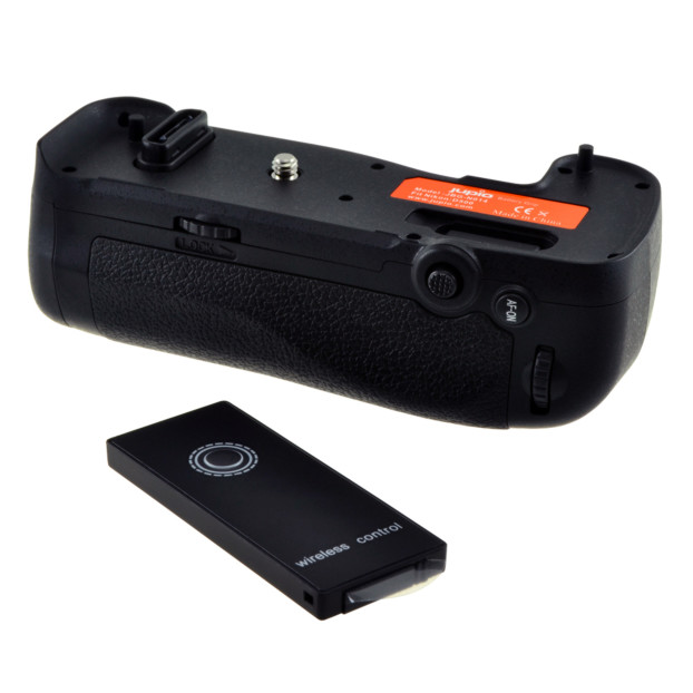 Jupio Battery Grip for Nikon D500 (MB-D17) + 2.4 Ghz Wireless JBG-N014
