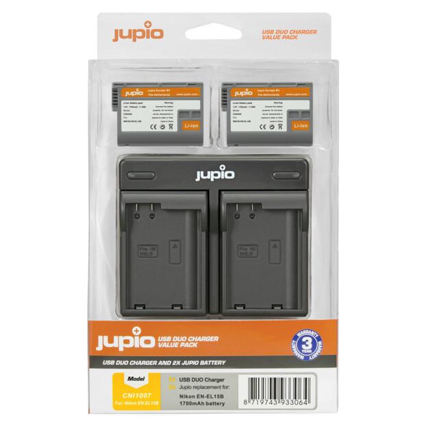 Jupio EN-EL15B USB Dual Charger Kit
