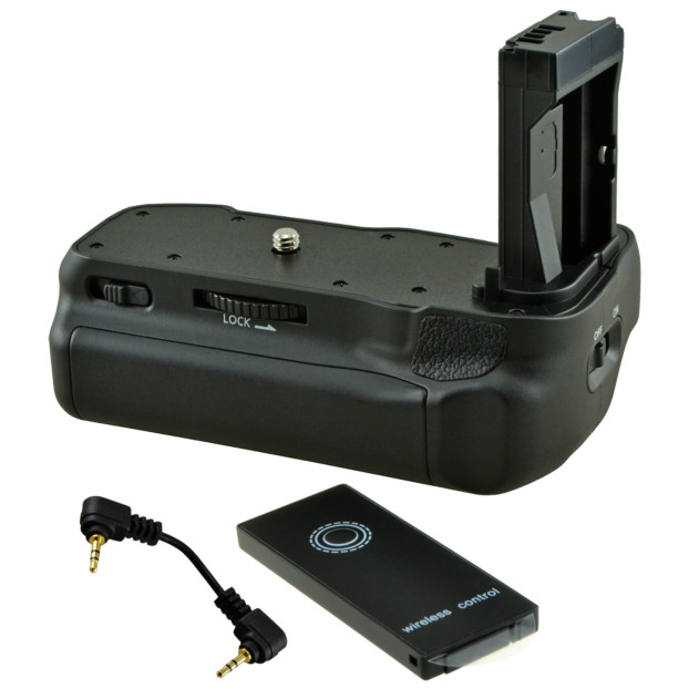 Jupio Battery Grip for Canon EOS 77D / 800D / 9000D + Cable JBG-C016