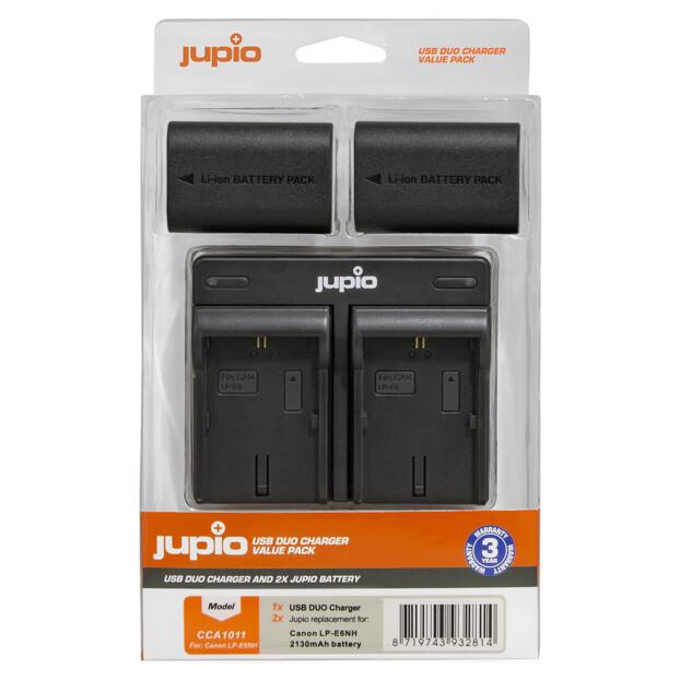Jupio LP-E6NH USB Dual Charger Kit