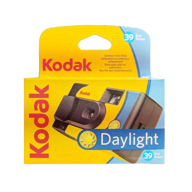 Kodak Daylight Wegwerpcamera Kleur 39 opnamen