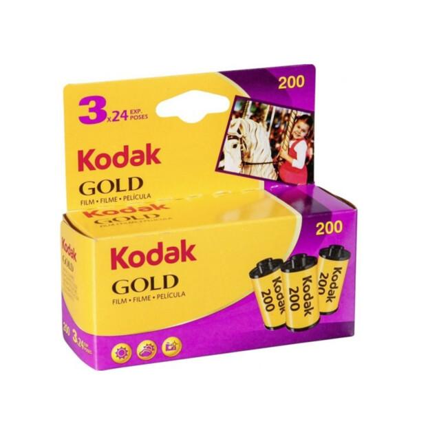 Kodak Gold 200 135-24 3-Pak