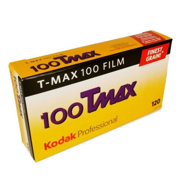 Kodak T-Max TMX 100 120 5-Pak