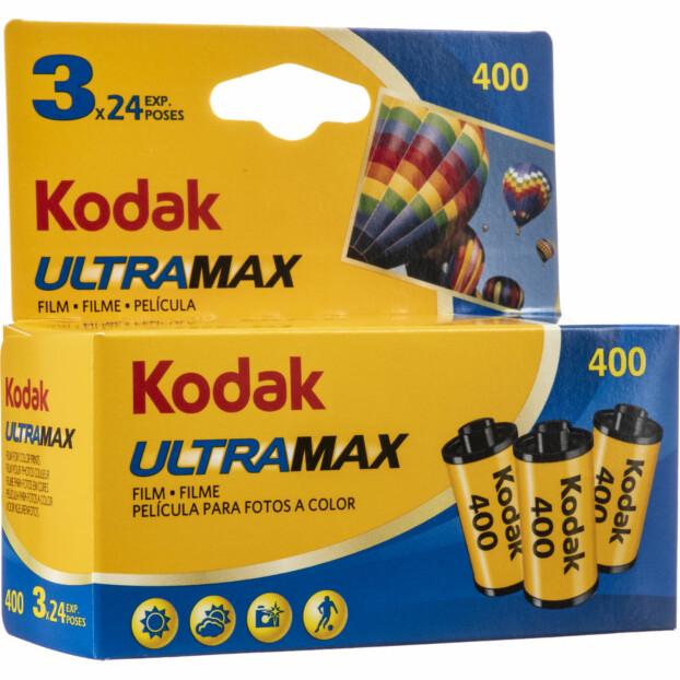 Kodak Ultra Max 400 135/24 3pak