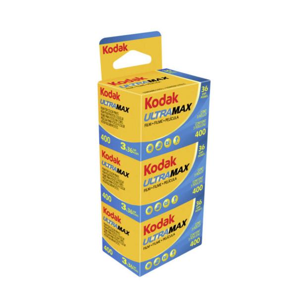Kodak Ultra Max 400 135/36 3pak