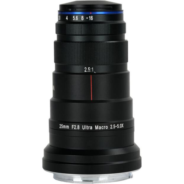 Laowa Venus 25mm f/2.8 2.5-5x Ultra Macro   Canon RF
