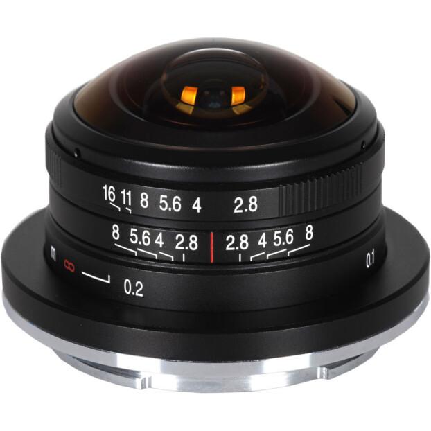 Venus Laowa 4mm f/2.8 Circulaire Fisheye   Leica L