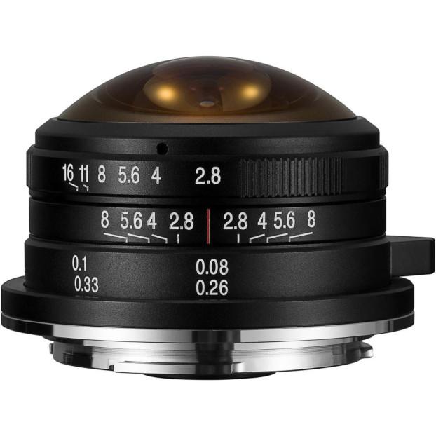 Venus Laowa 4mm f/2.8 Circulaire Fisheye - Canon M-mount