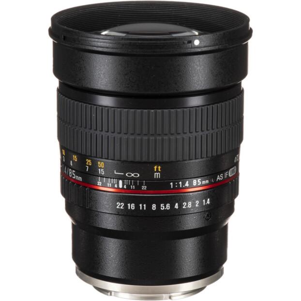 Samyang 85mm f/1.4 AS IF UMC | Fuji X