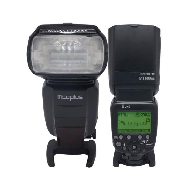 McoPlus MT-600SC Speedlite Canon