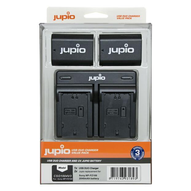 Jupio NP-FZ100 USB Duo Charger Kit
