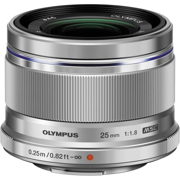 Olympus M.Zuiko Digital 25mm f/1.8 zilver