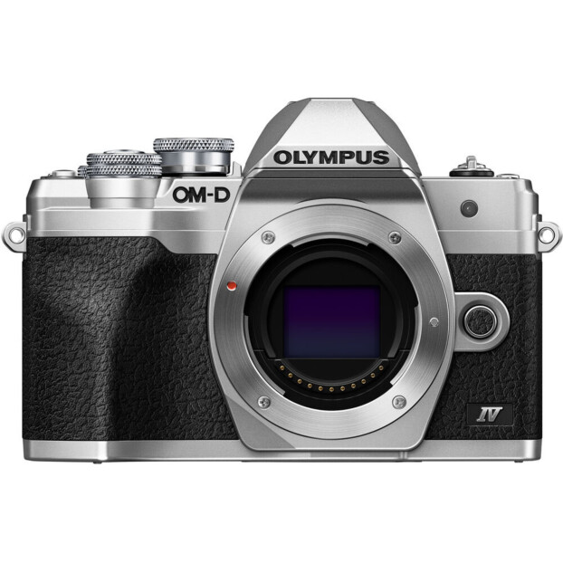 Olympus E-M10 Mark IV Body zilver