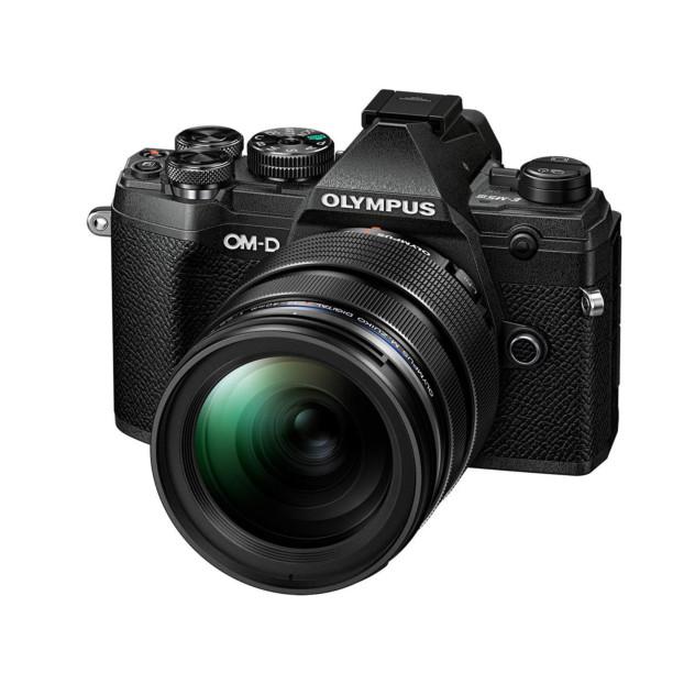 Olympus OM-D E-M5 mark III zwart + 12-40mm f/2.8