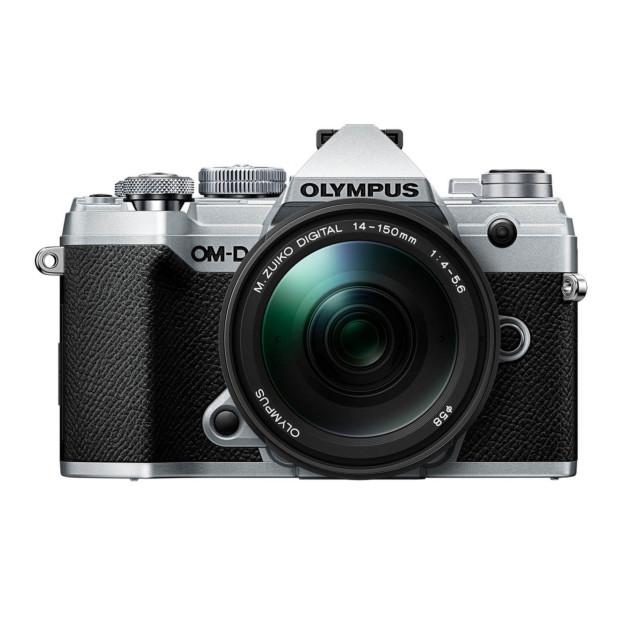 Olympus OM-D E-M5 mark III zilver + 14-150mm f/4.0-5.6