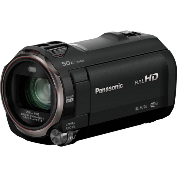 Panasonic ECAM HC-V770 Camcorder zwart