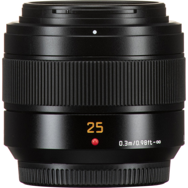 Panasonic LEICA DG SUMMILUX 25mm f/1.4 ASPH II, zwart