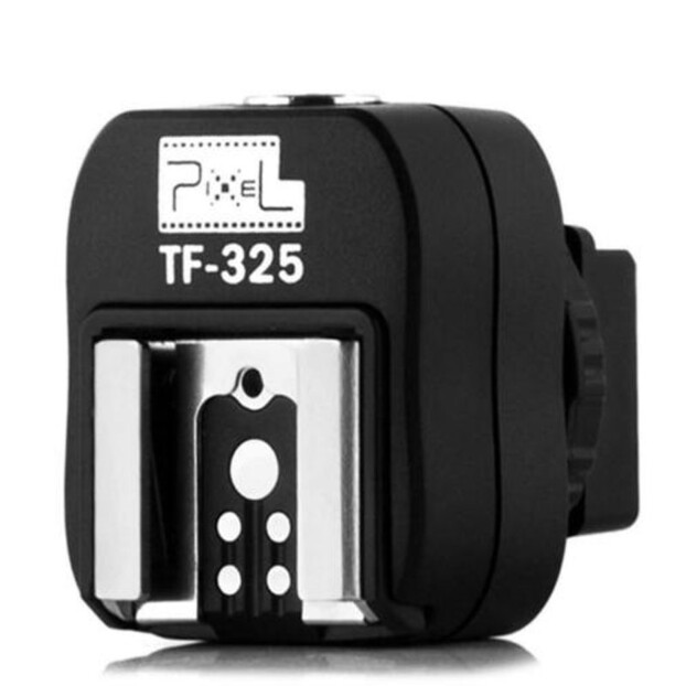 Pixel Hotshoe Adapter TF-325 Sony Auto-Lock naar Universele hotshoe