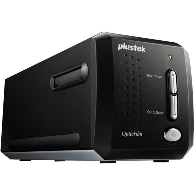 Plustek OpticFilm 8200i SE mit Silverfast SE Plus 8 Software
