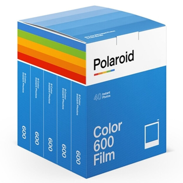 Polaroid Directklaarfilm Kleur 600 | 40 foto's