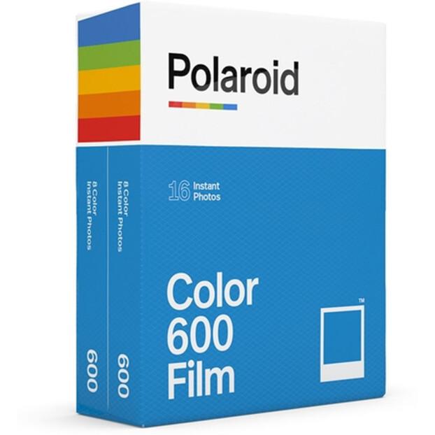 Polaroid Directklaarfilm Kleur 600 | 16 foto's