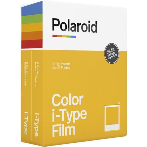 Polaroid Directklaarfilm Kleur i-Type | 16 foto's