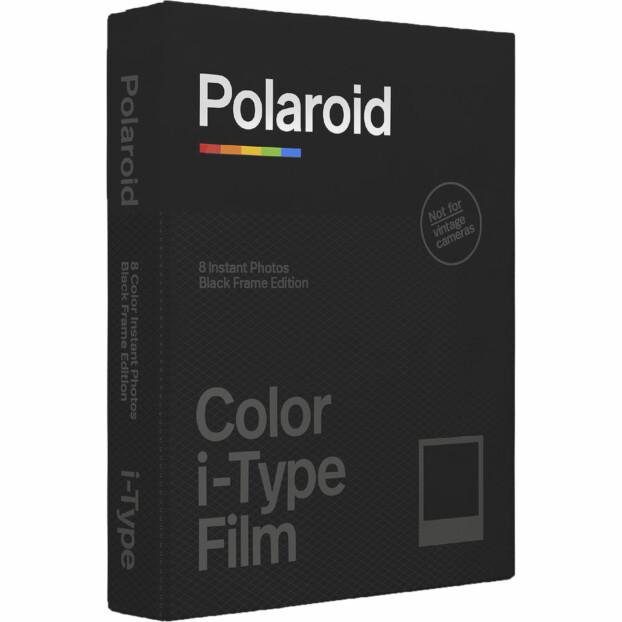 Polaroid Directklaarfilm Kleur met Zwarte Rand i-Type | 8 foto's