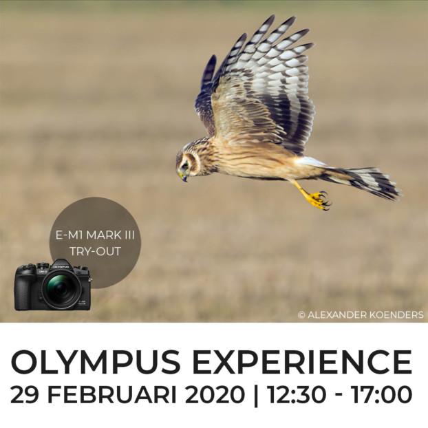 Olympus Experience E-M1 mark III   29 februari 2020   VOL