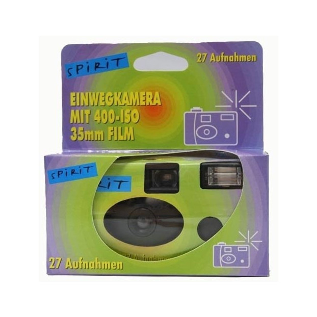 Wegwerpcamera 400 ISO 27 opn