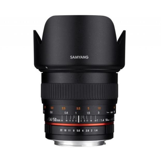 Samyang 50mm F1.4 Fujifilm zwart