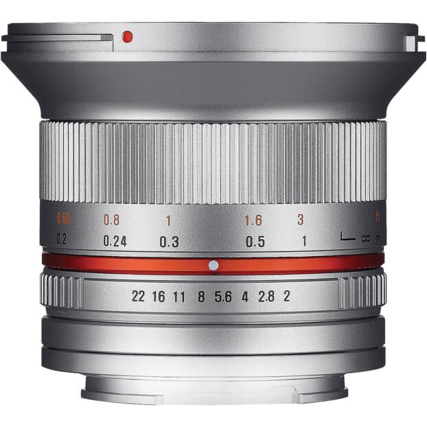 Samyang 12mm f/2.0 NCS CS zilver   Sony E