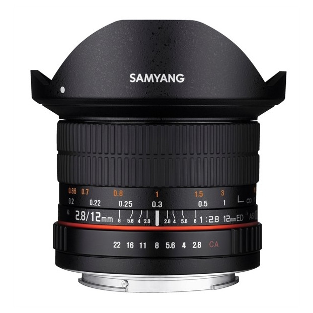 Samyang 12MM F2.8 Fisheye Micro 4/3