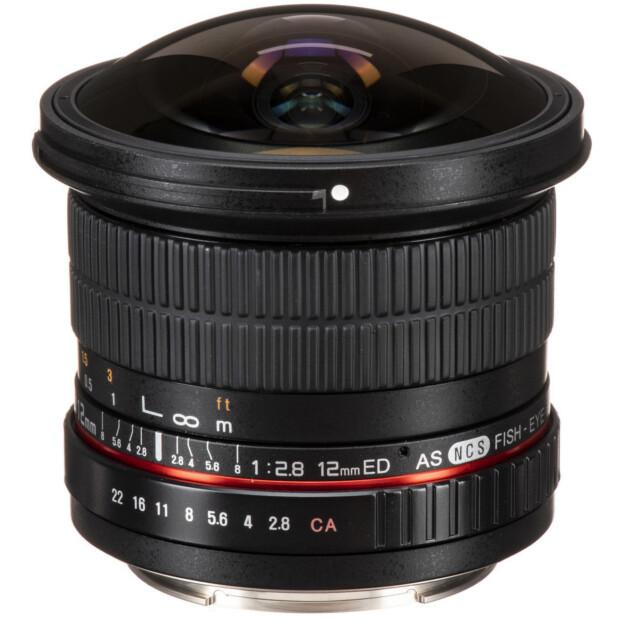 Samyang 12mm f/2.8 ED AS NCS Fisheye   Nikon F (FX)