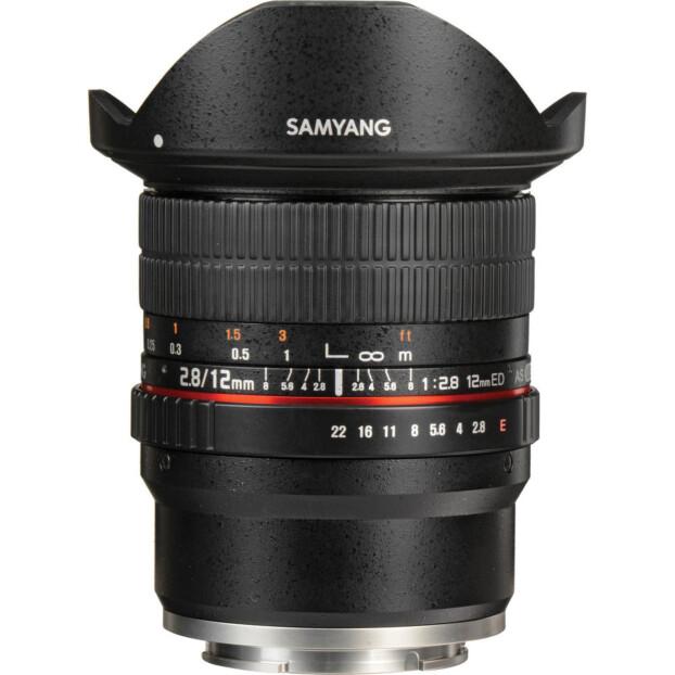 Samyang 12mm f/2.8 ED AS NCS Fisheye | Sony FE