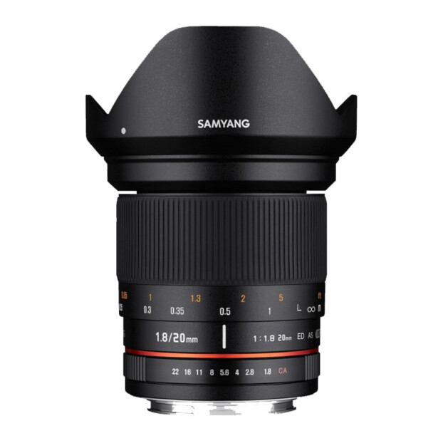 Samyang 20mm f/1.8 ED AS UMC | Sony FE