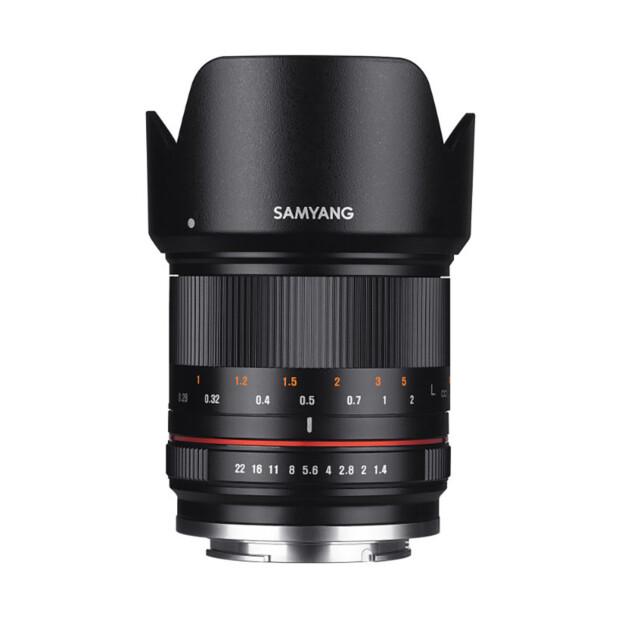 Samyang 21mm f/1.4 ED AS UMC CS zwart | Canon EF-M