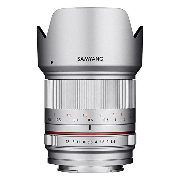 Samyang 21mm f/1.4 ED AS UMC CS zilver | Canon EF-M