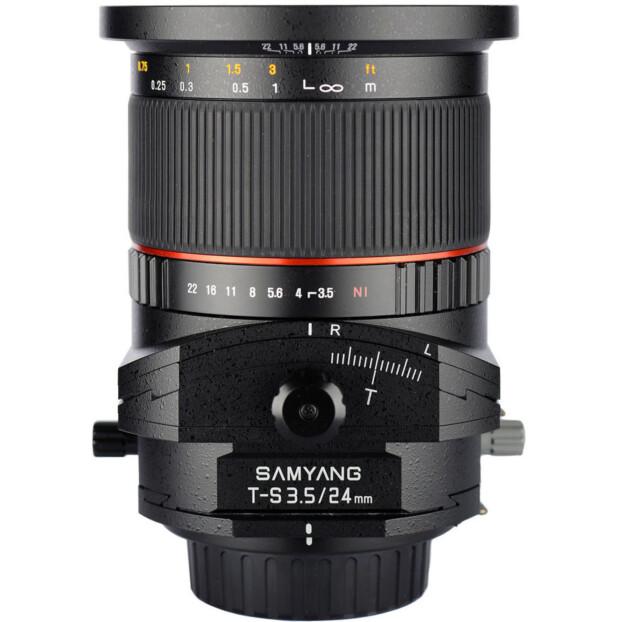 Samyang 24mm f/3.5 ED AS Tilt/Shift   MFT