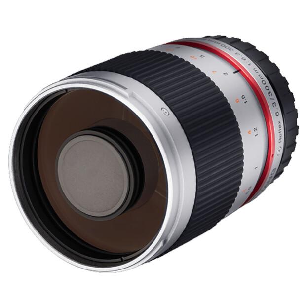 Samyang 300mm f/6.3 ED UMC CS zilver | Fuji X