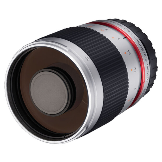 Samyang 300mm f/6.3 ED UMC CS zilver | Canon EF-M