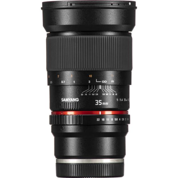 Samyang 35mm f/1.4 ED AS UMC | Fuji X